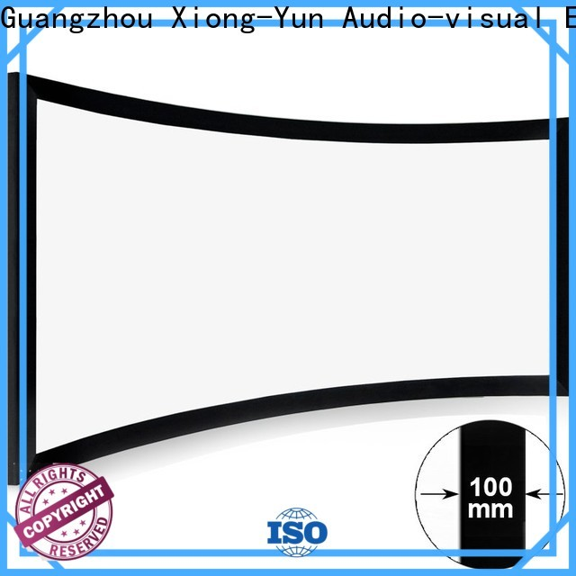 XY Screens curved projector screen diy from China for theater