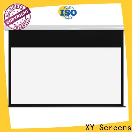 XY Screens motorised projector screen wholesale for home