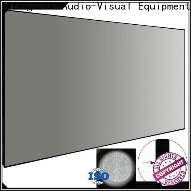 XY Screens black ambient light projector personalized for home