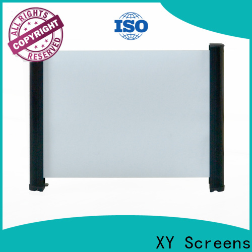 XY Screens tabletop projector screens supplier for living room