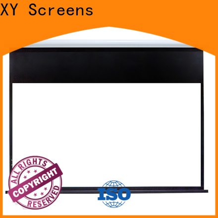 XY Screens motorized projector screen supplier for home