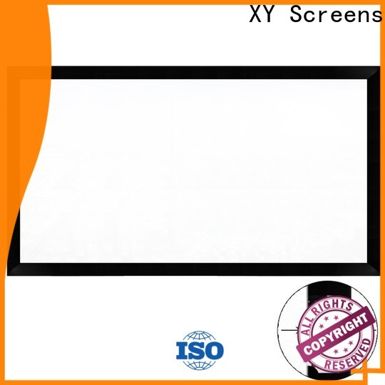 XY Screens portable projector screen price from China for home