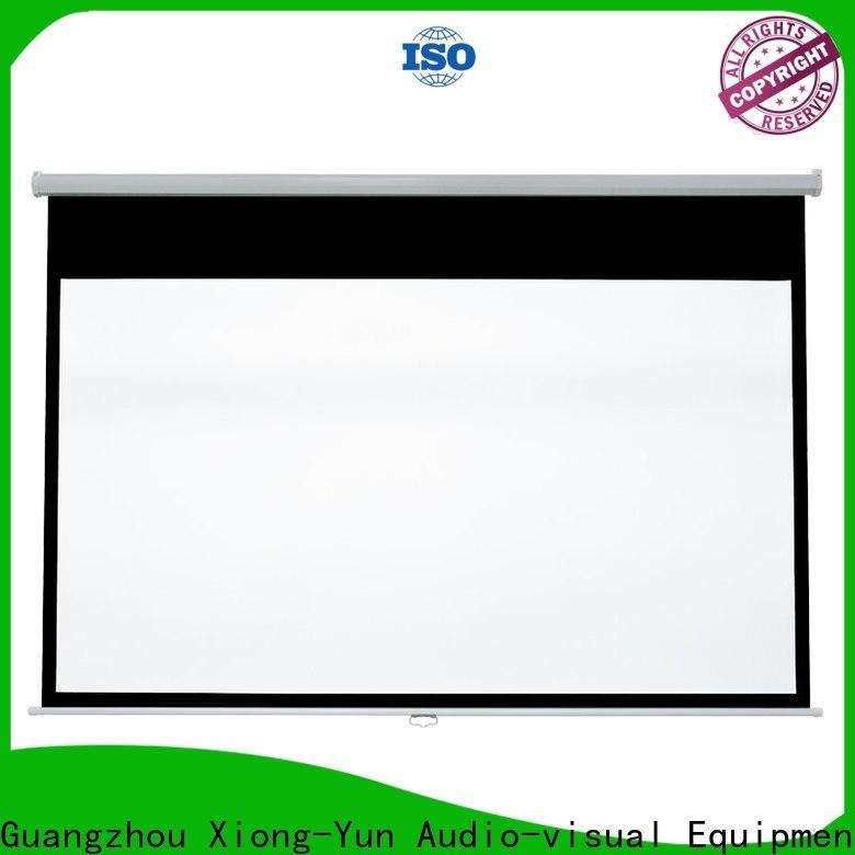wide viewing range projector screen supplier in cebu design for school