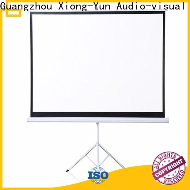 XY Screens environmentally portable tripod screen factory price for meeting