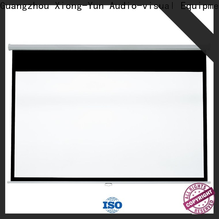 XY Screens advanced drop down projector screen with good price for college