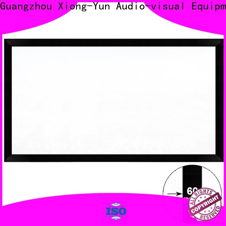 XY Screens home cinema screen with good price for office