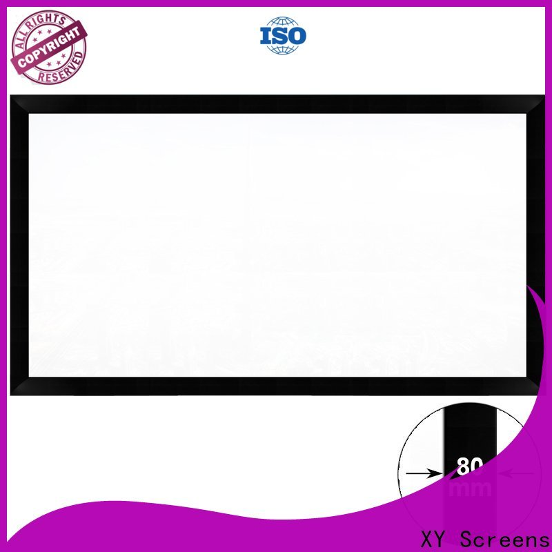 thin movie projector screen factory price for theater
