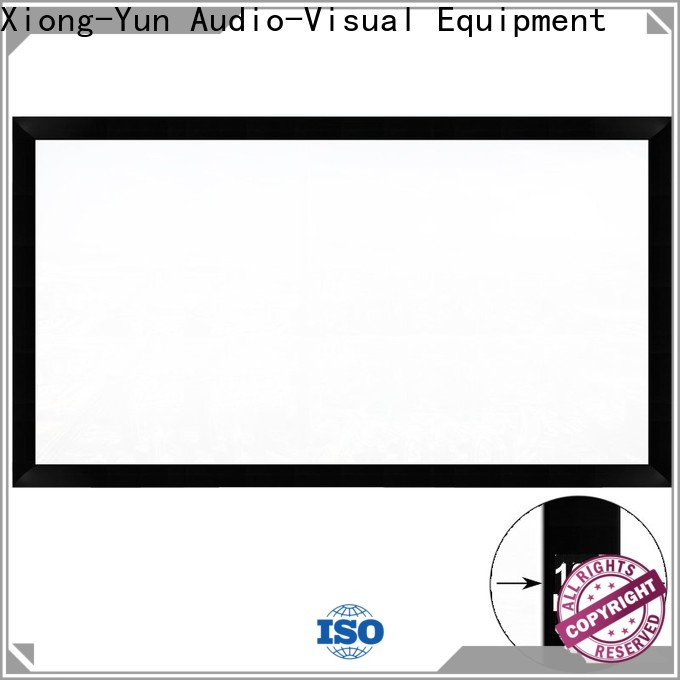 XY Screens retractable Projection Screens customized for rooms