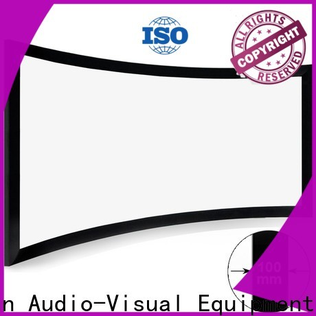 widescreen curved projector screen diy directly sale for indoors