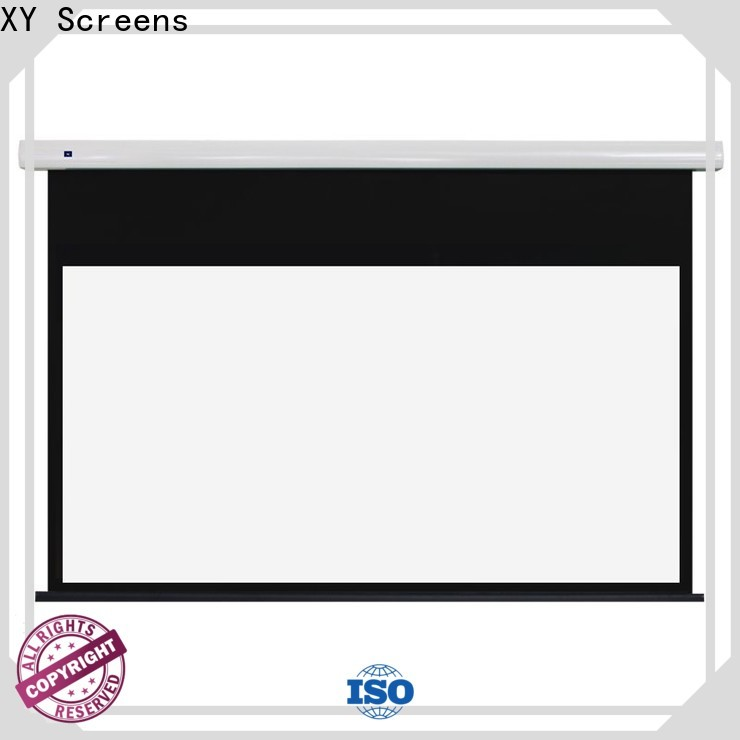 motorized Portable Projection Screen company inquire now for indoors