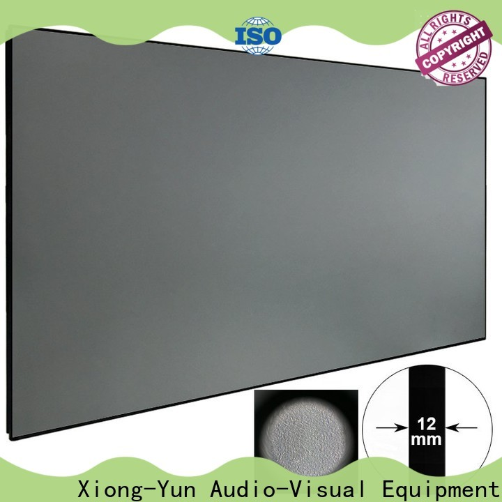 XY Screens light rejecting Ambient Light Rejecting Projector Screen factory price for living room