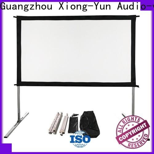 XY Screens portable outdoor movie projector supplier for outdoor