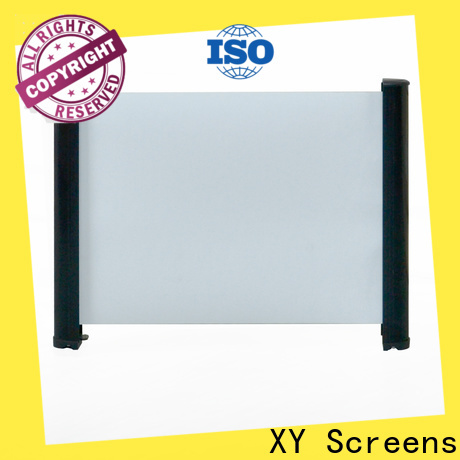 XY Screens retractable tabletop projector factory price for home