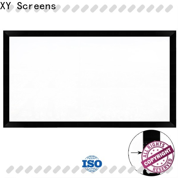 fixed home theater projector screen factory price for meeting room