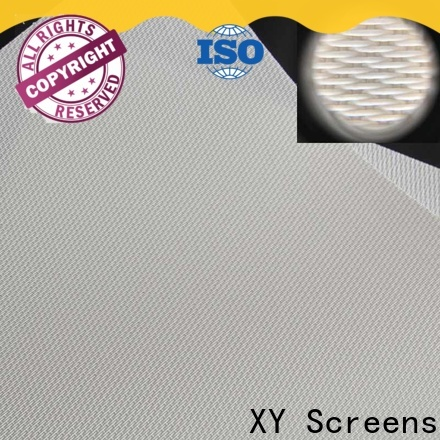 XY Screens acoustically transparent screen material from China for motorized projection screen