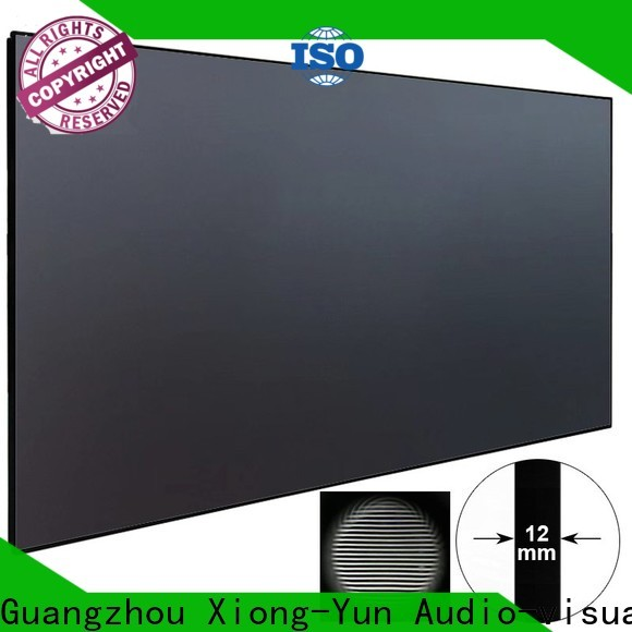 XY Screens crystal ultra short throw projector for home theater customized for television