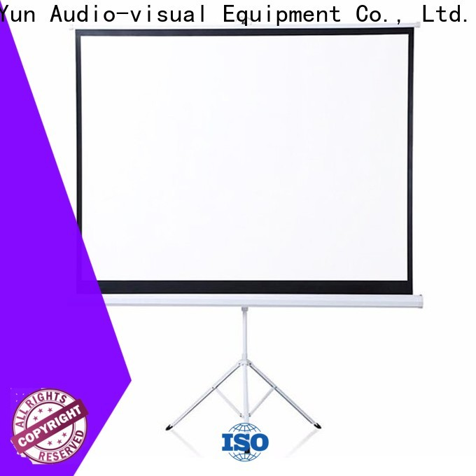 XY Screens portable tripod screen factory price for office