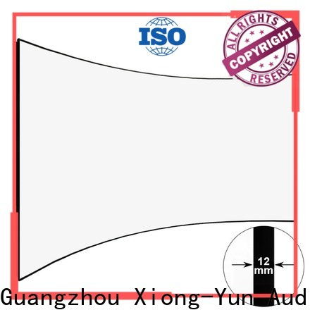 thin Home Entertainment Curved Projector Screens personalized for ktv