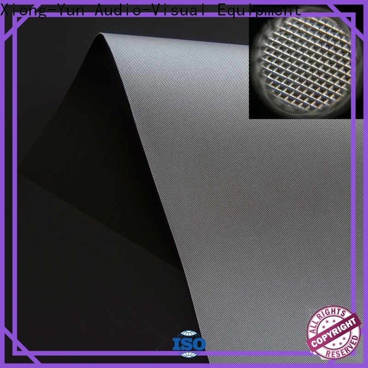 XY Screens normal projector screen fabric directly sale for fixed frame projection screen