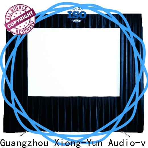 stable outdoor projector screen wholesale