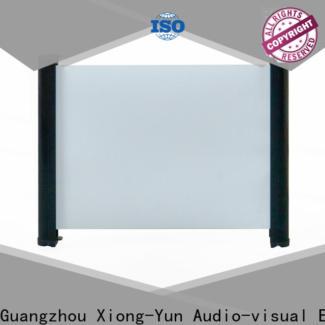 retractable projector screen size factory price for home