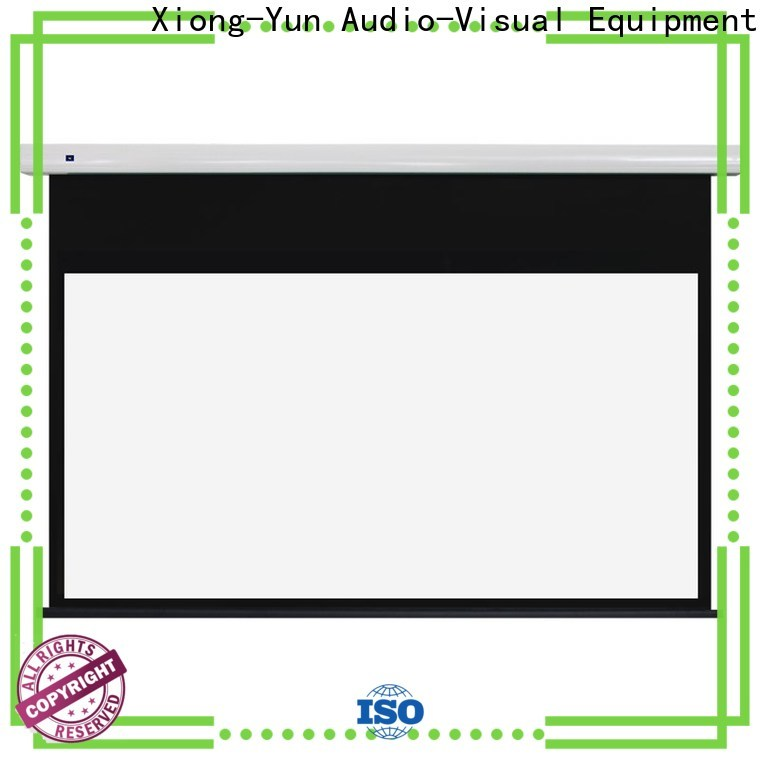 XY Screens motorised projector screen wholesale for theater