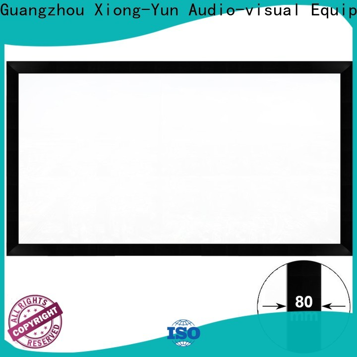 XY Screens movie projector screen supplier for theater