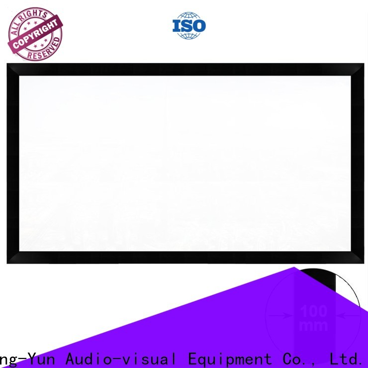 retractable Projection Screens customized for indoors