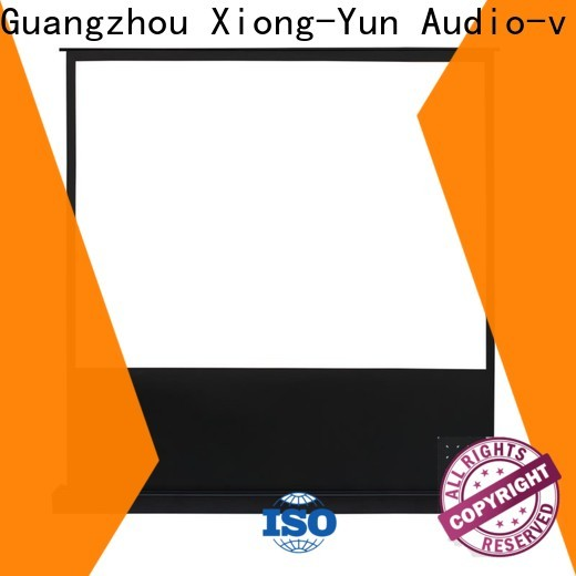 XY Screens rising portable pull up projector screen with good price for home