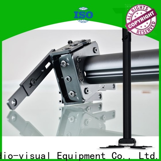 XY Screens fast folding projector floor mount customized for television