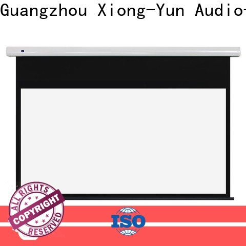 XY Screens intelligent Portable Projection Screen company factory for household