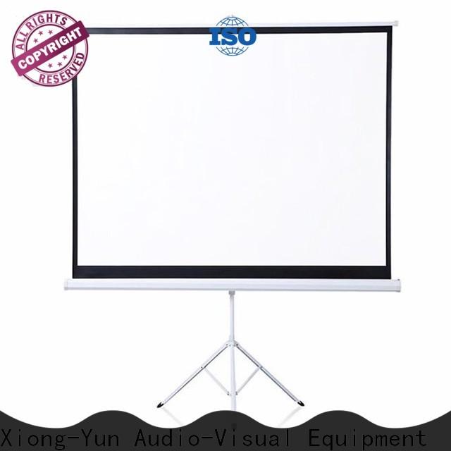 XY Screens portable tripod screen factory price for company