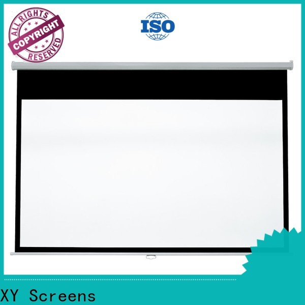 XY Screens advanced drop down projector screen design for students