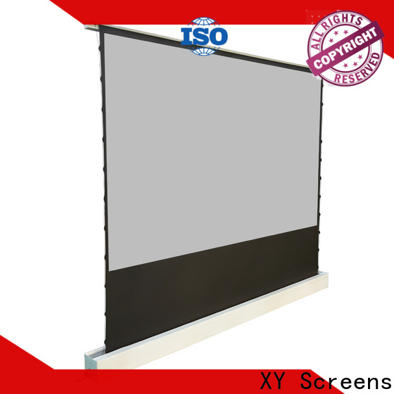 XY Screens manual projection screen price inquire now for living room