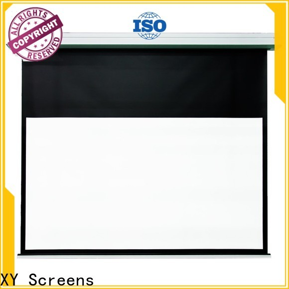 XY Screens theater projector screen design for home