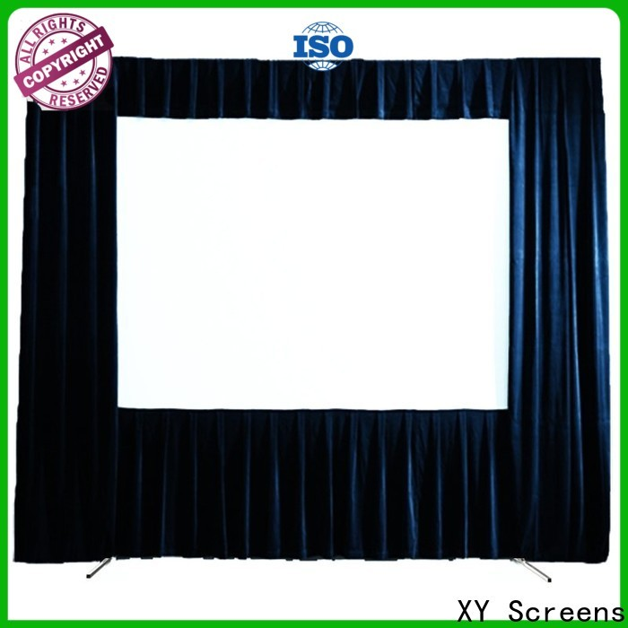 XY Screens outdoor movie projector factory price for square
