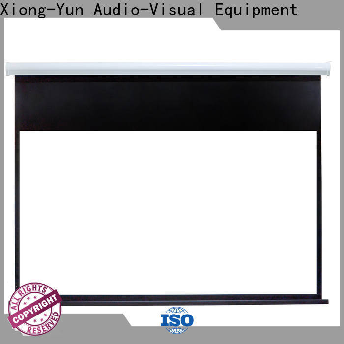 curved Motorized Projection Screen wholesale for theater