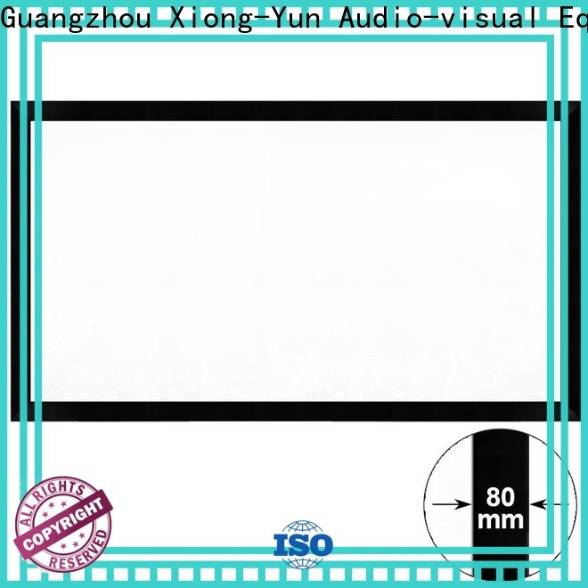 XY Screens movie projector screen wholesale for office