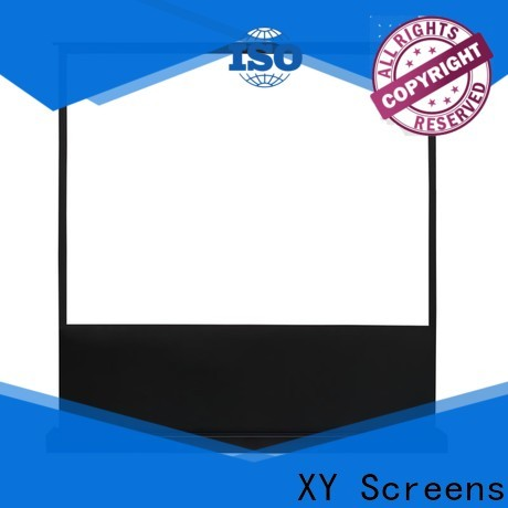 XY Screens manual projection screen price design for indoors