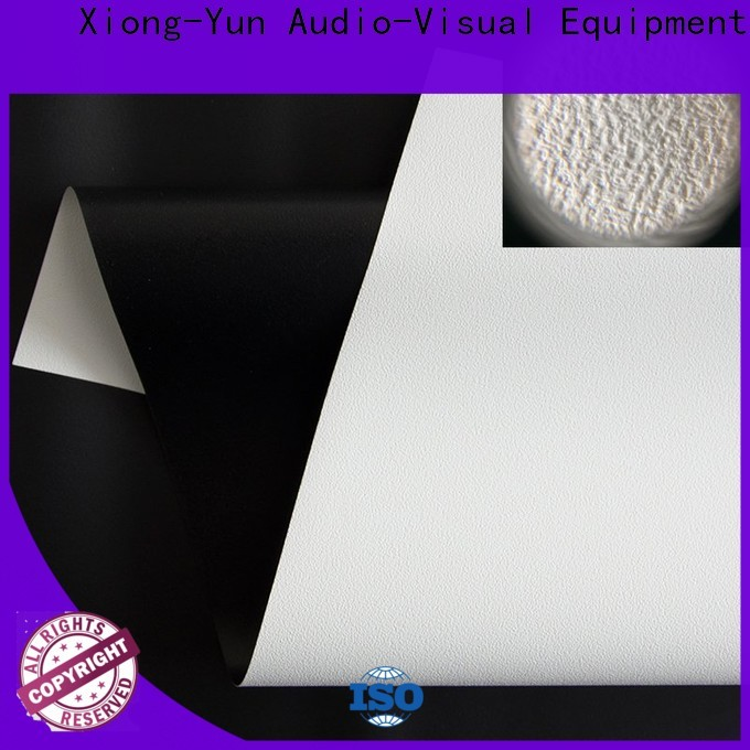 XY Screens durable front fabrics factory for thin frame projector screen