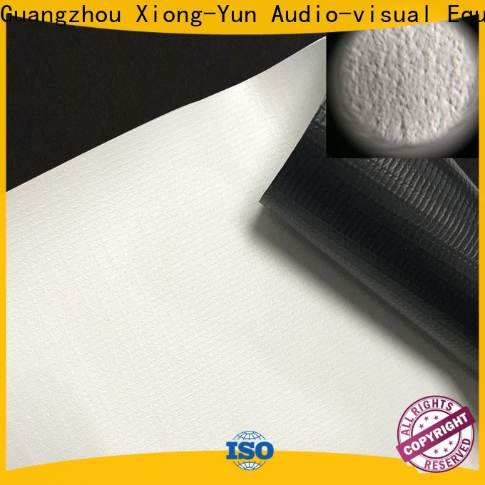XY Screens projector screen fabric china design for fixed frame projection screen