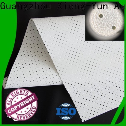 XY Screens perforating best acoustically transparent screen series for thin frame projector screen
