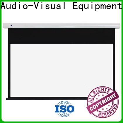 XY Screens intelligent motorised projector screen factory price for rooms