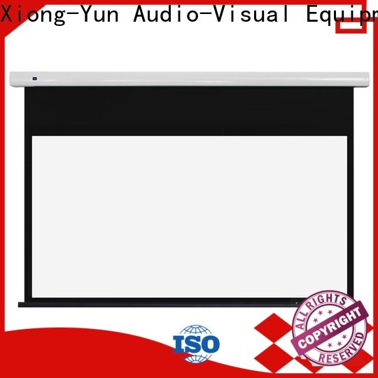 XY Screens hd projector screen with good price for home