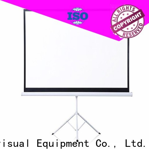 coated tripod projector screen factory price for company