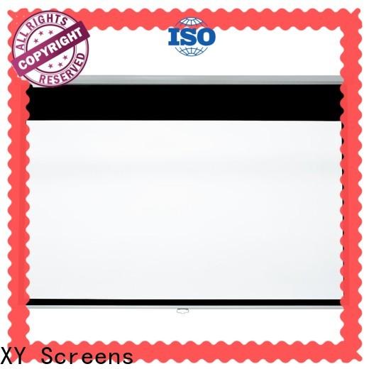 XY Screens drop down projector screen design for school
