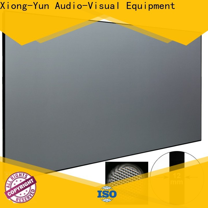 XY Screens ultra short throw projector screen from China for movies