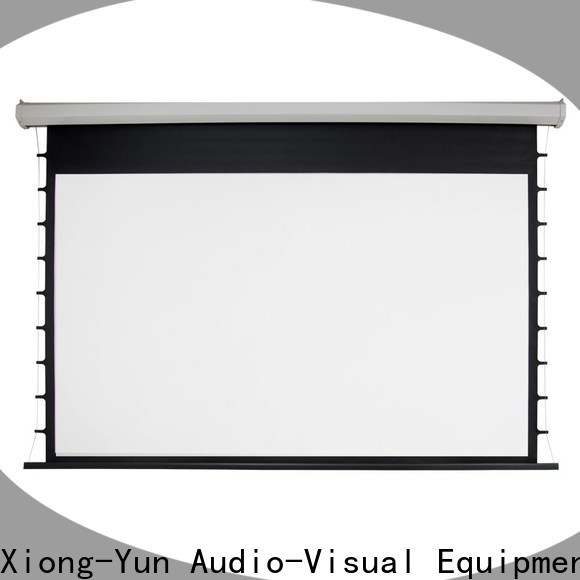 XY Screens stable motorized projector screen supplier for home