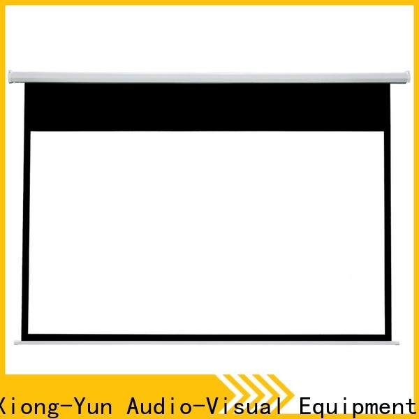 XY Screens Home theater projection screen factory price for rooms