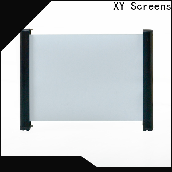 XY Screens intelligent projector screen size wholesale for living room